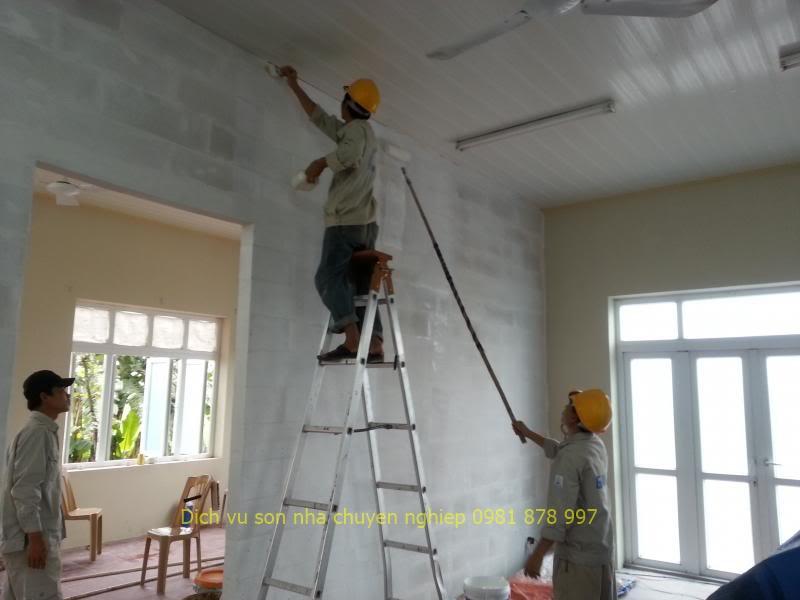 thợ son nhà tại quận thủ đức