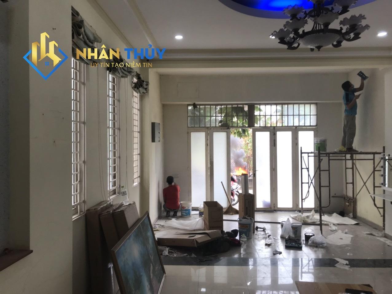 thợ sơn nhà tại dĩ an