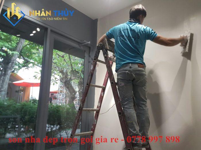 thợ sơn nhà giá rẻ huyện bình chánh