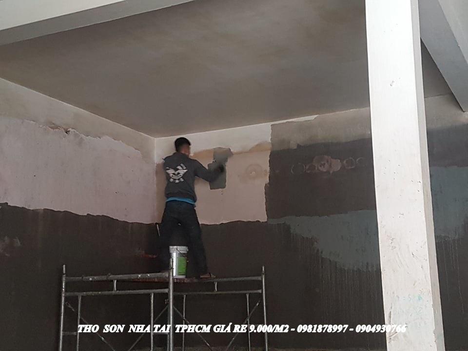 thợ sơn nhà trọn gói tại tphcm