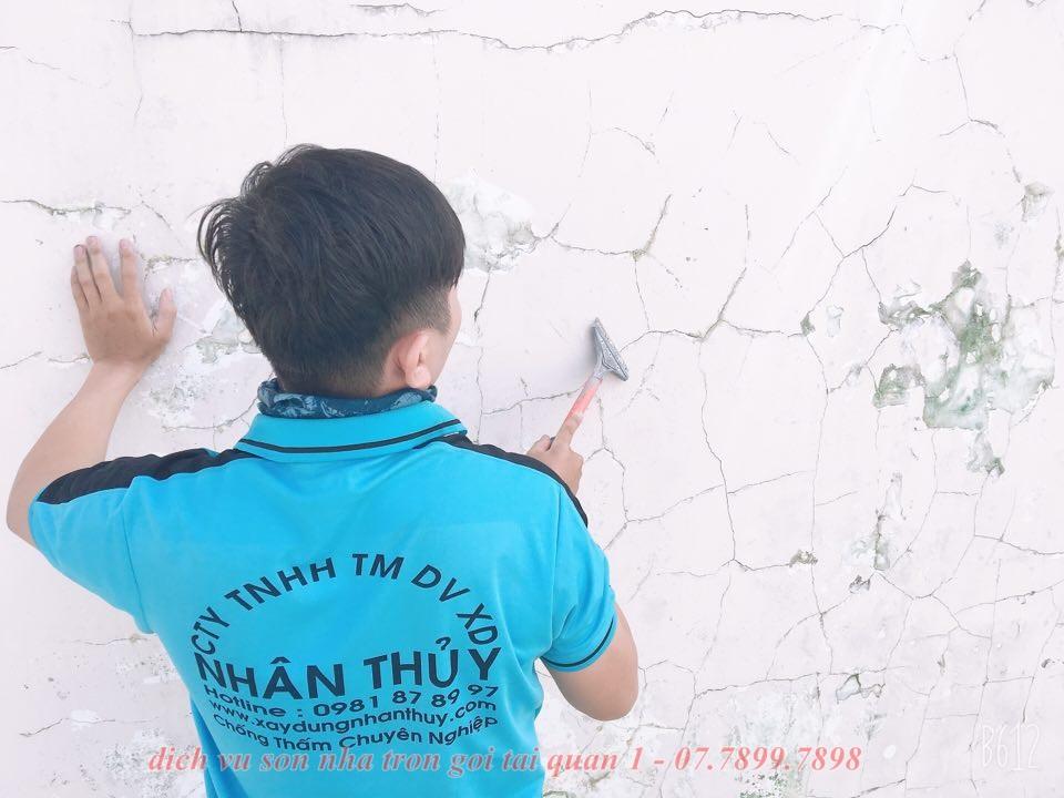 Dịch vụ sơn nhà trọn gói tại quận 1