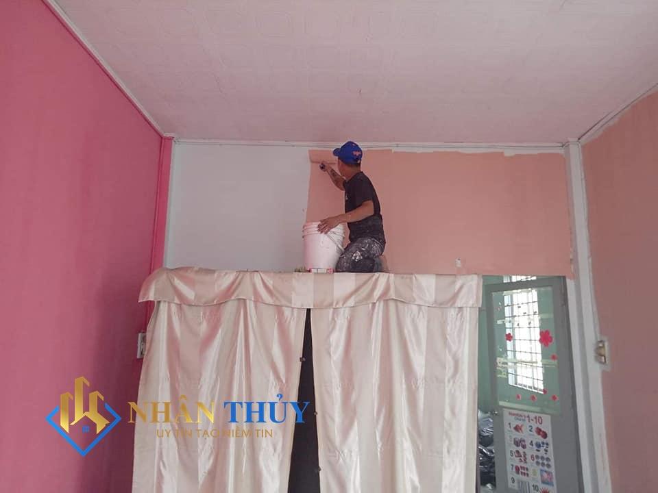 thợ sơn nhà tại bình thạnh