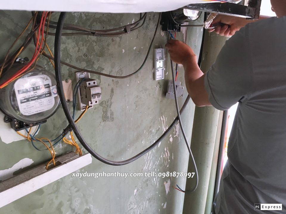 thợ sửa điện nước tại quận gò vấp