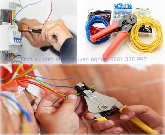 dịch vụ sửa chữa điện nước tân bình