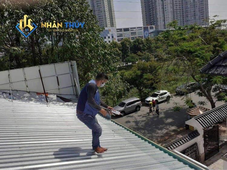 thợ sửa mái tôn tại biên hòa