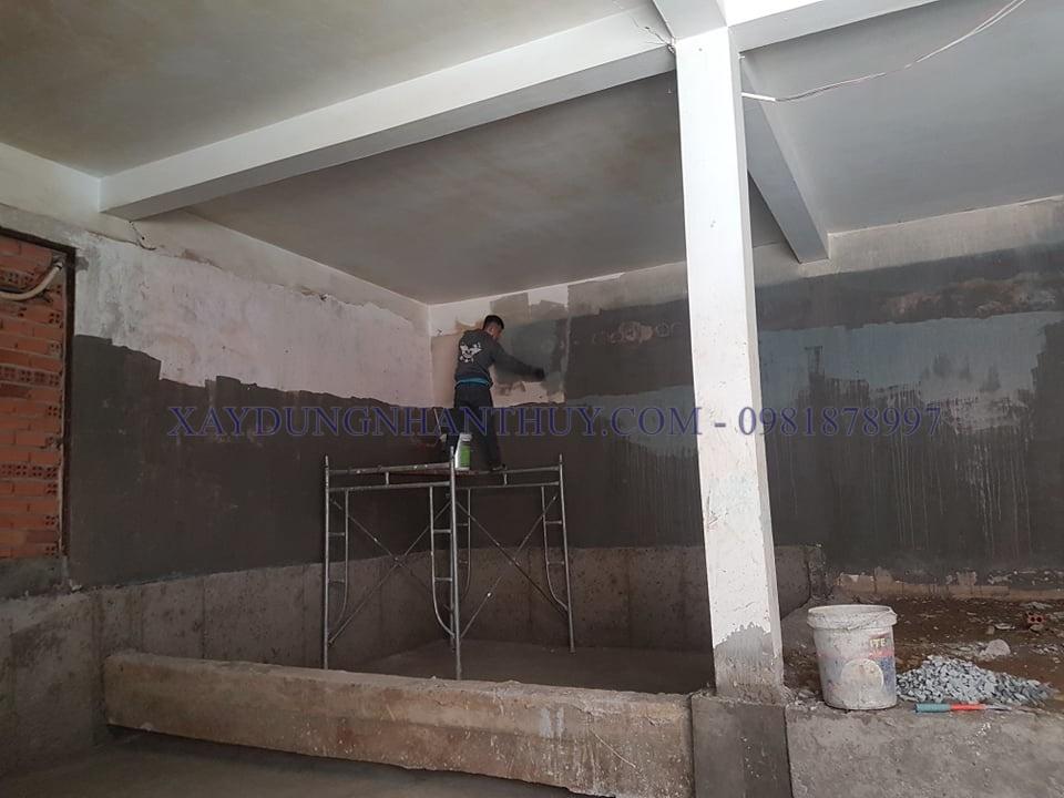 thợ thi công chống thấm tầng hầm tại tphcm